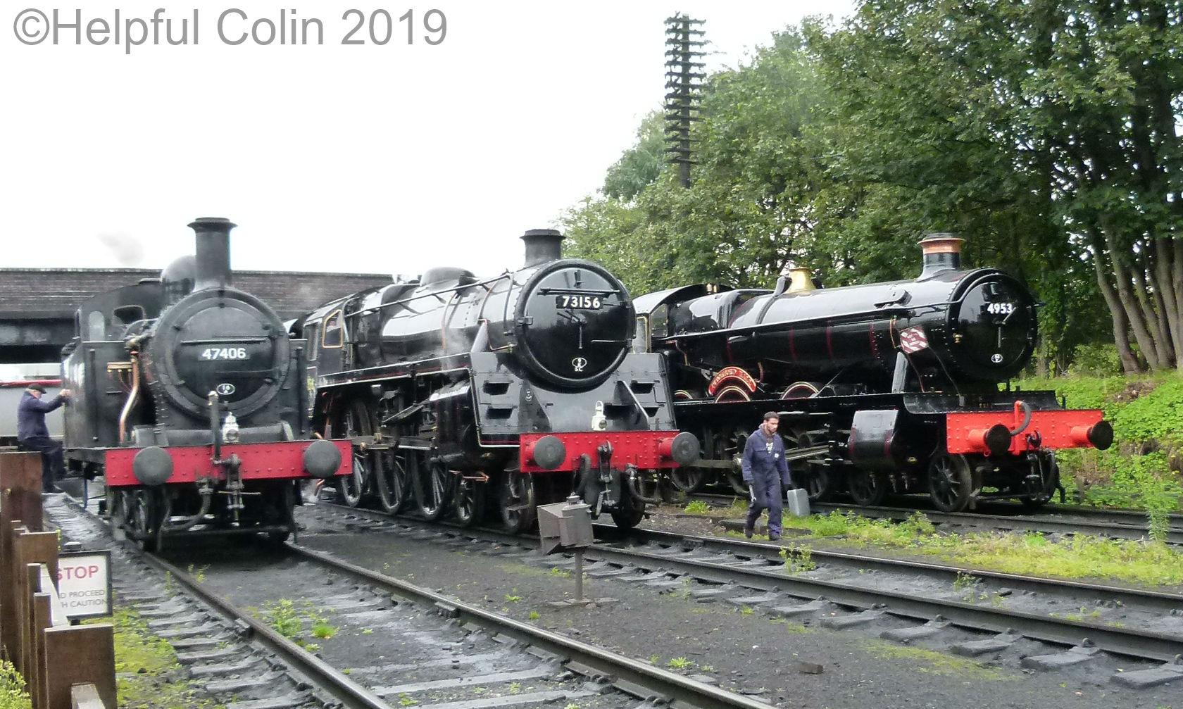 47406, 73156 & 4933 autumn steam gala 2019