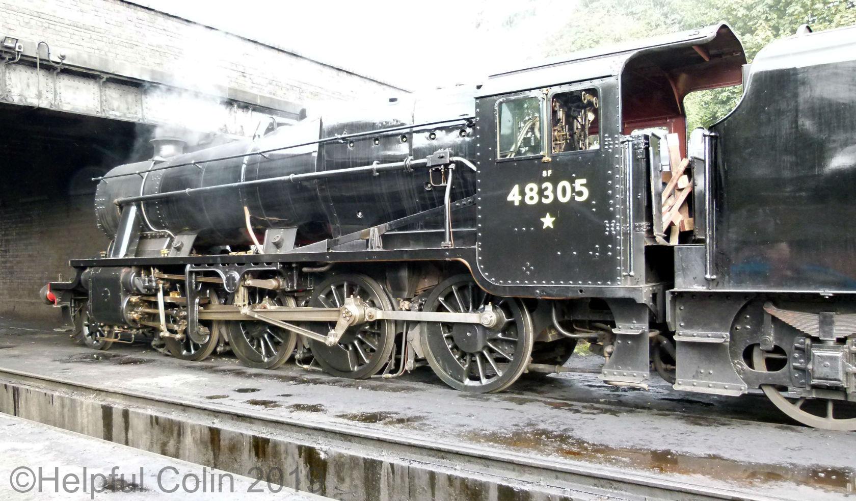 48305 autumn steam gala 2019