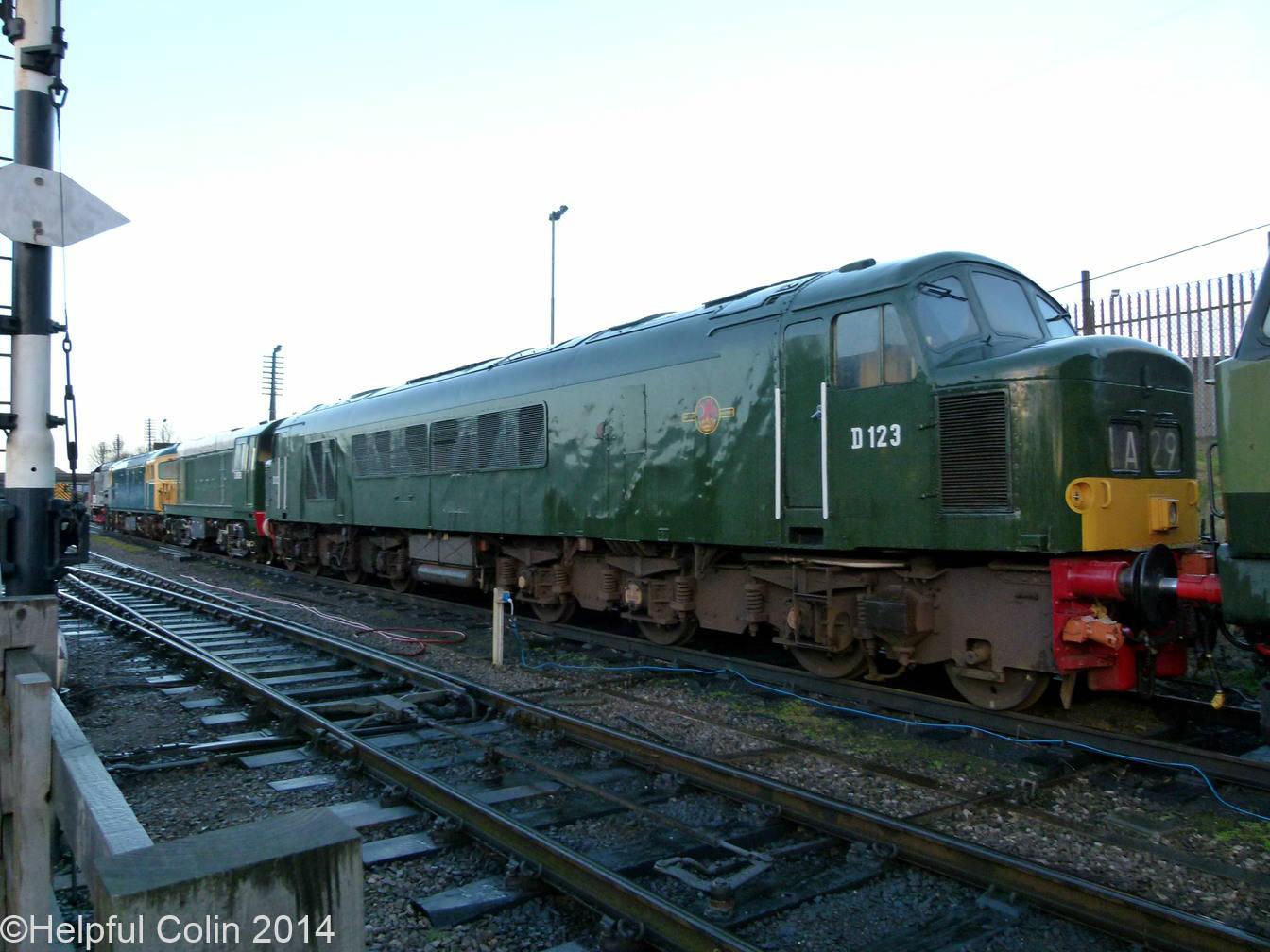 No.D123 – Class 45 1Co-1Co diesel-electric locomotive