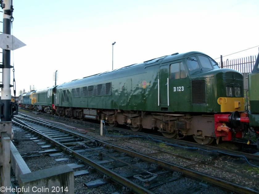 No.D123 – Class 45 1Co-1Co diesel-electric locomotive