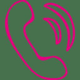 Phone hand-drawn icon