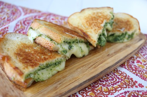 Image result for pesto grilled cheese