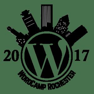 WordCamp Rochester 2017 Logo