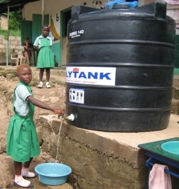 Water Polytank voor Adawso
