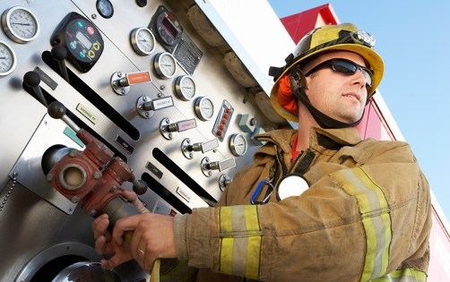 Picture of firefighter