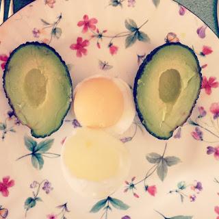 Egg & Avocado Breakfast Face