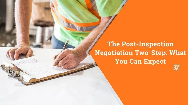 The Post-Inspection Negotiation Two-Step