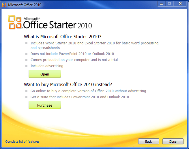 Msoffice Word 2010 For Sale