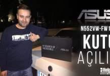 ASUS N552VW-FW149T Kutu Açılışı