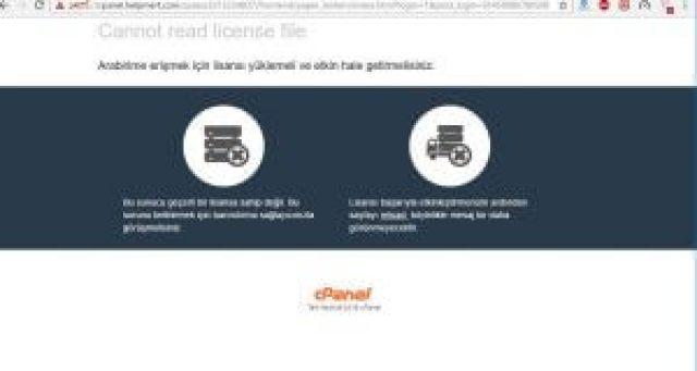 Cpanel Lisansı Yenileme