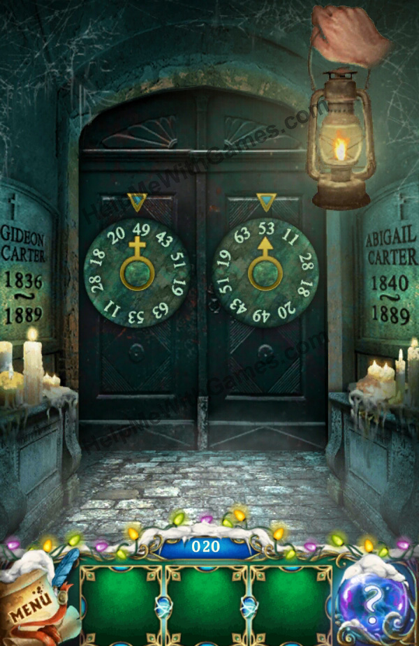 100 Doors The Mystic Christmas Level 20 Helpmewithgames