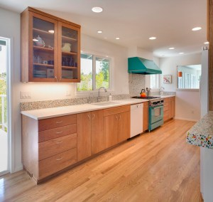 Example of remodeled kitchen