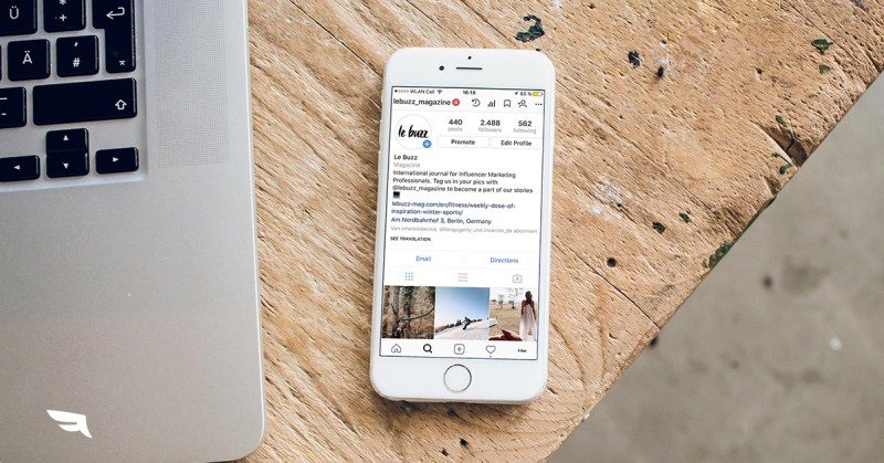 Social image How to Create a Professional IG Bio How to Create the Best Instagram
