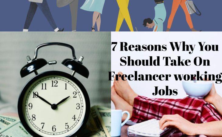 Freelancer working jobs