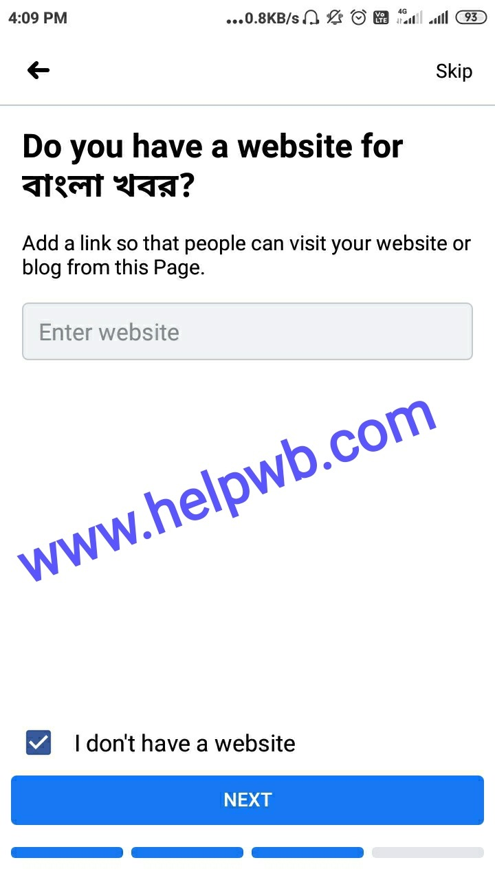 How to create Facebook pages