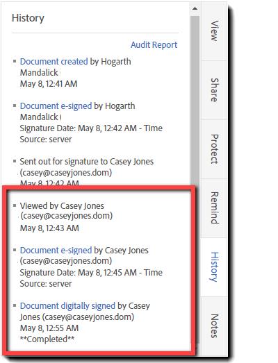 Adobe Sign - Digital Signature Workflow