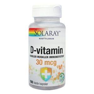 D-vitamin 30 mcg
