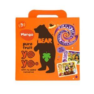 Yoyo multipak mango Bear pure fruit 5×20 gr