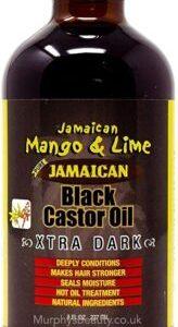 SUNNY ISLE JAMAICAN BLACK CASTOR OIL Castor Oil 236 ml. Sunny Isle Mango & Lime Jamaican Black