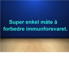 Super enkel måte å forbedre immunforsvaret.