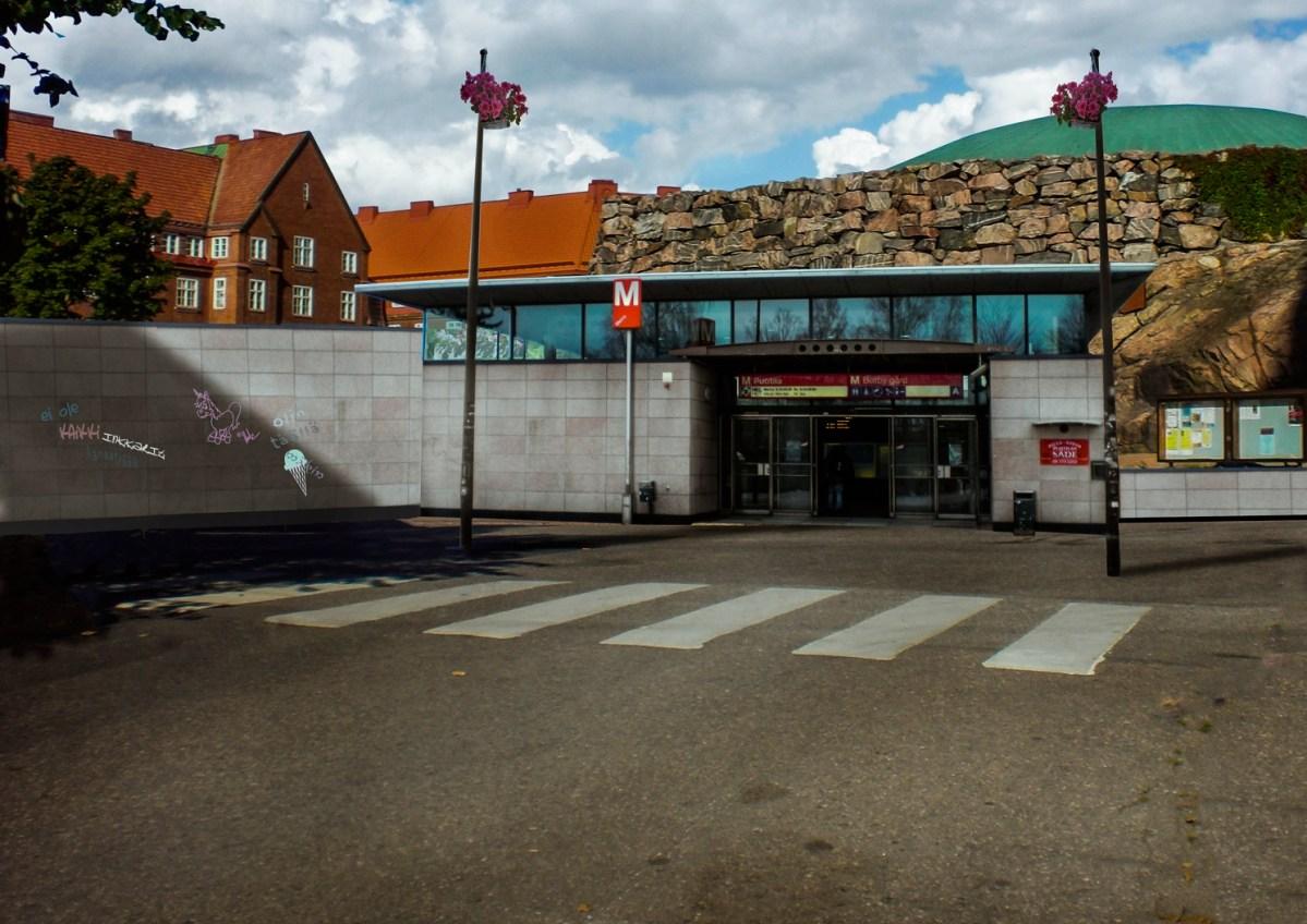 Metro relocated: Templinaukiometro