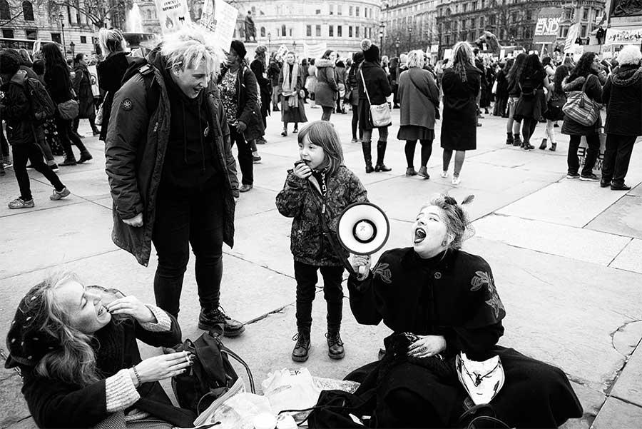 From the Women's March, London, 2018 by David Sladek
