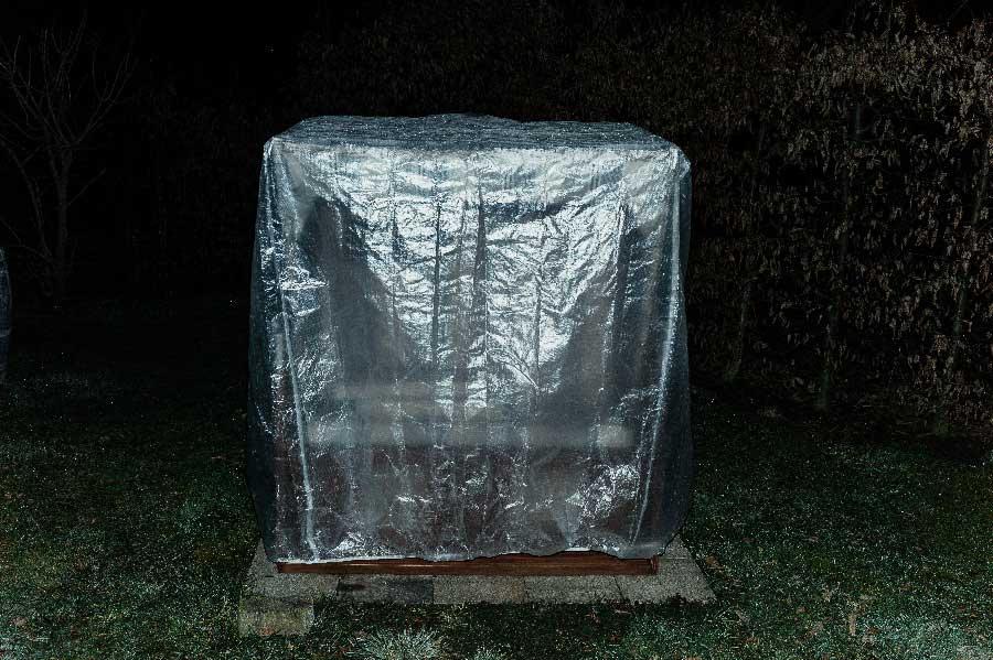 Reflections from the series Have you seen außerirdischen Troll? by Dieter Schamne