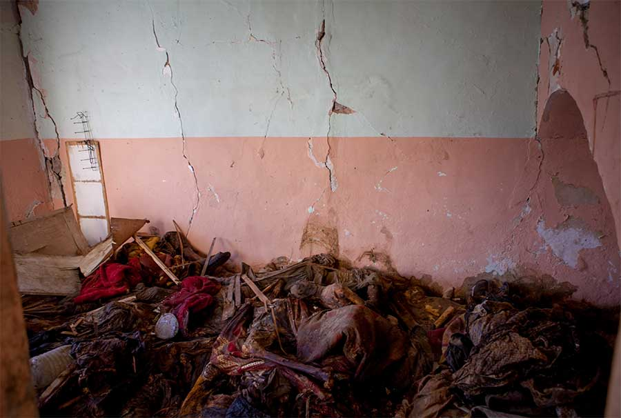 Killing Room of Mosul from the series Messages from Afar by Janne_Korkko