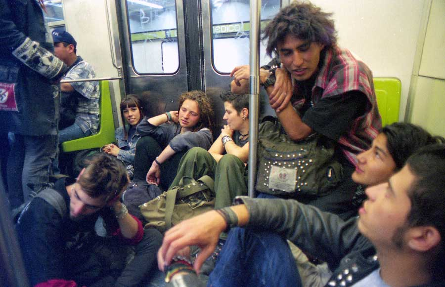 DF subway from the series We are not what you expect by Kasa Loka