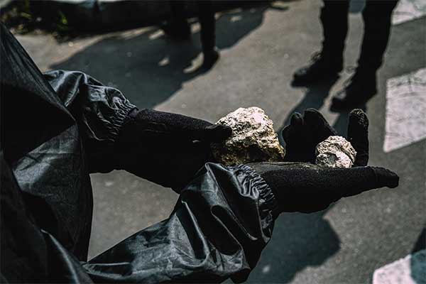 Munition from the series I am anarchist by Maxime Reynie