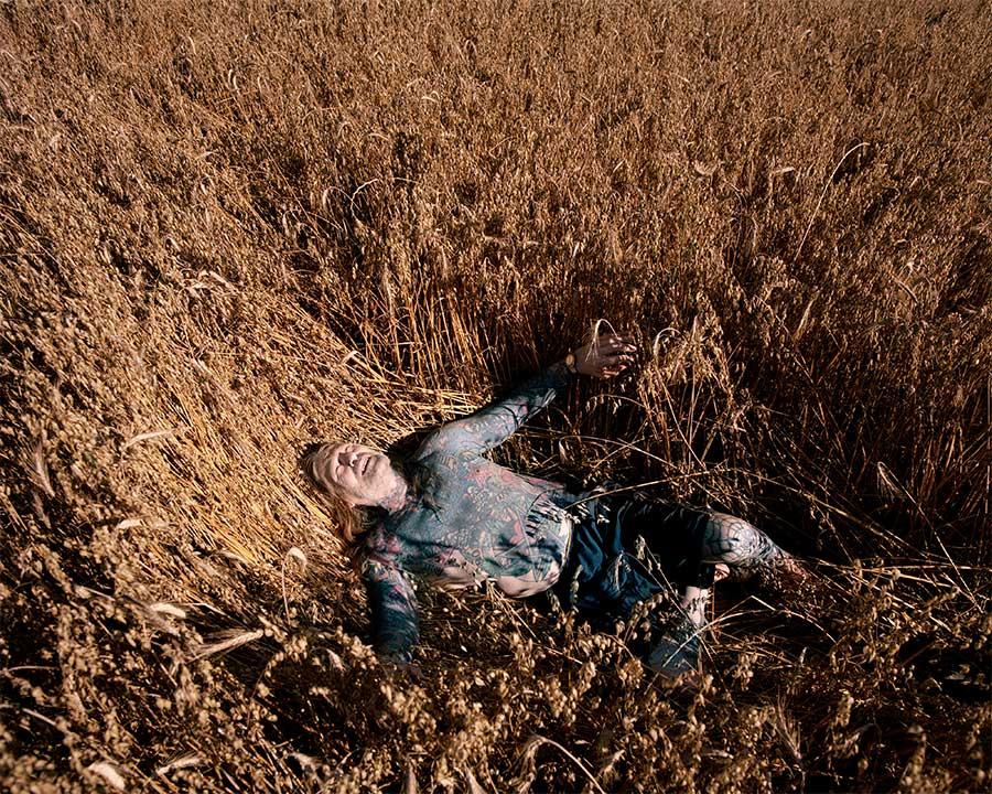 Grain Field by Michael Floor