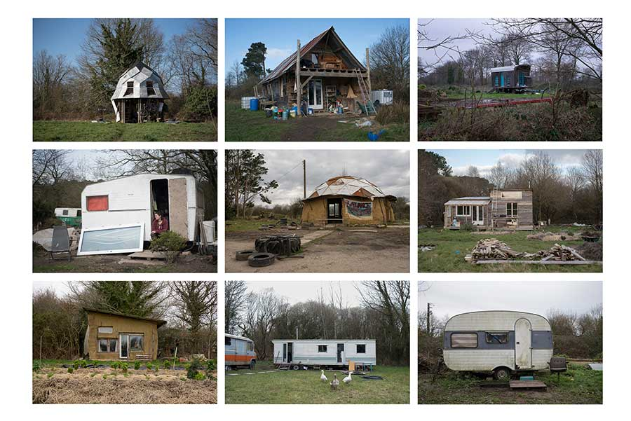 Housing in the ZAD of Notre-Dame-des-Landes from the series A Zone to Defend by Penelope Thomaidi