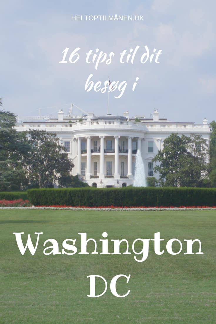 16 tips Washington DC