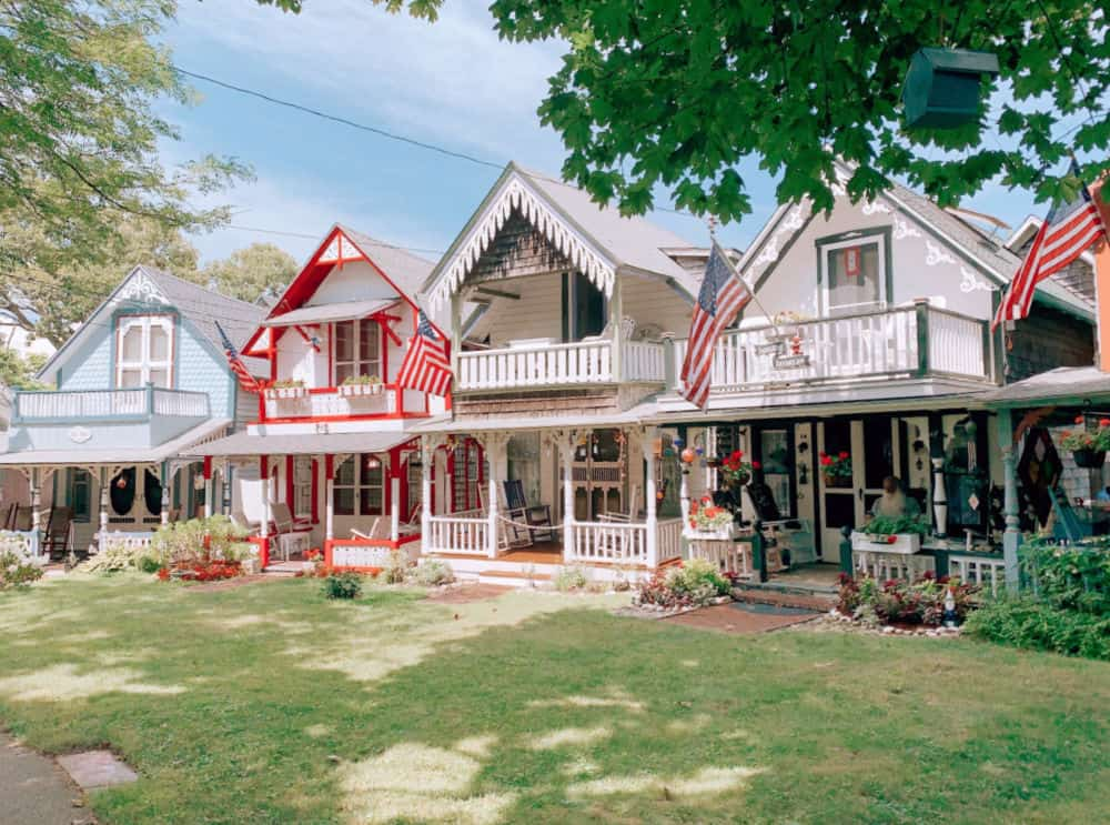 Gingerbread houses, Martha's Vineyard