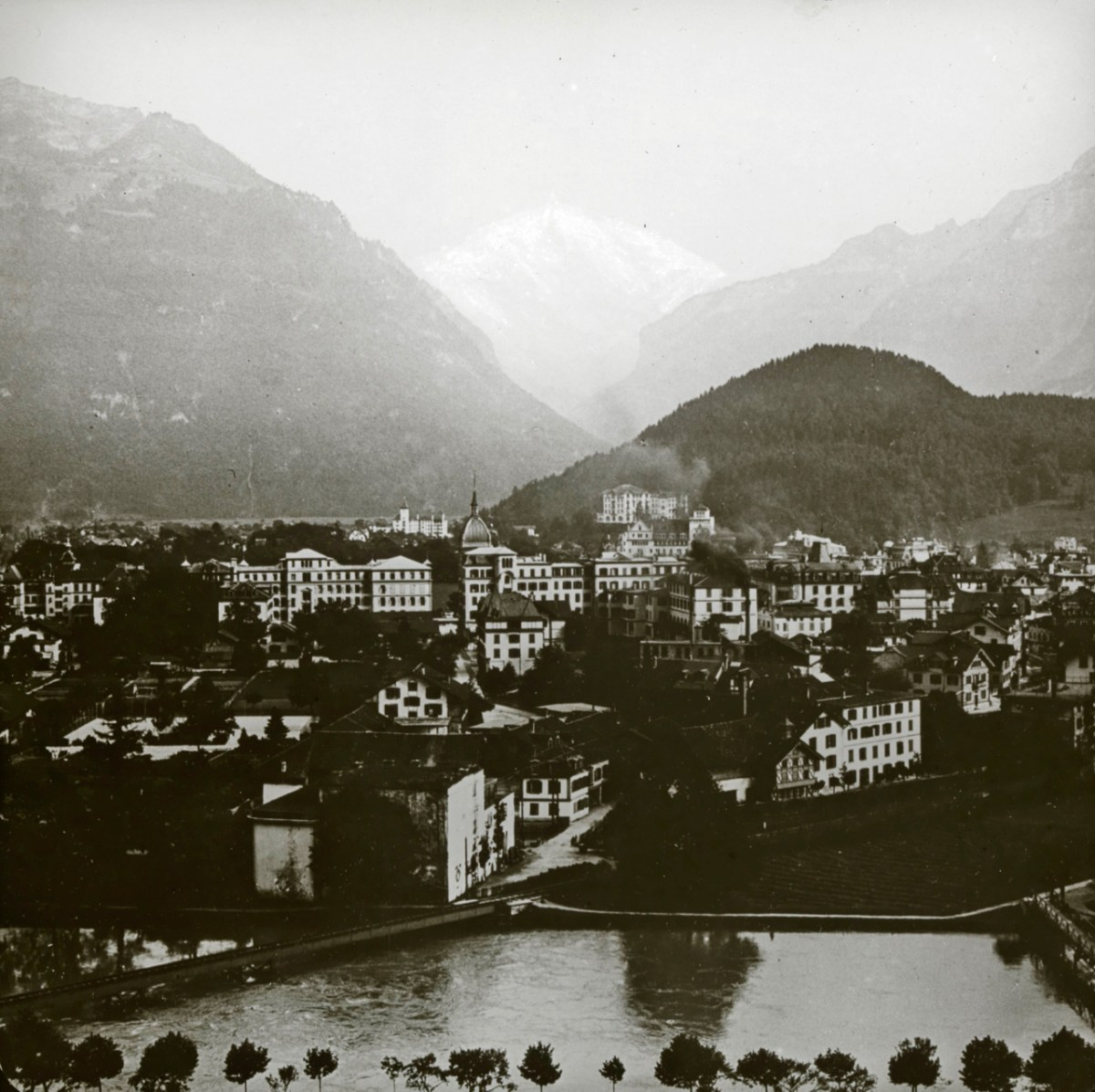 Carte postale d'Interlaken