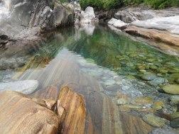 La mia vasca da bagno: il fiume verde smeraldo