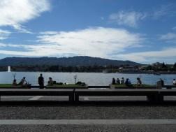 Au bord du lac de Zurich