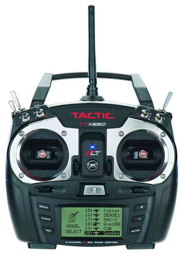 Tactic TTX650 6 Channel Computer Radio Mode 2 with Rx P