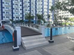 Vista di parte delle piscine