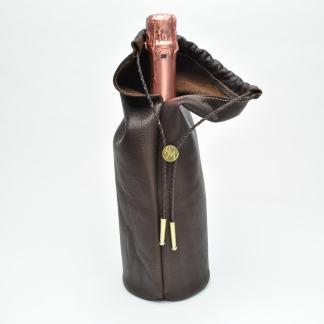 HeMan Leather Wine Bag