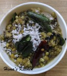 Green Gram / Cherupayar Curry