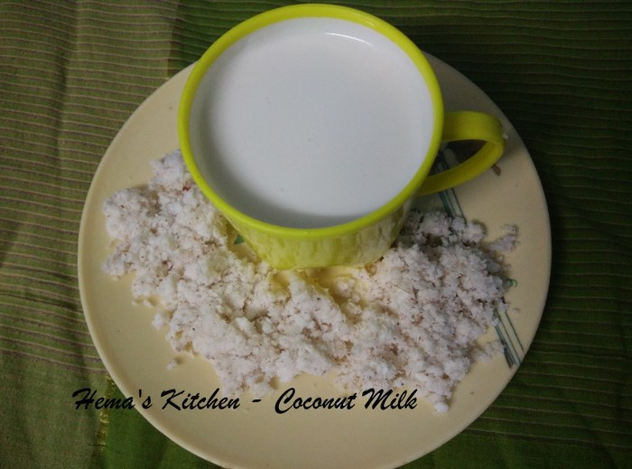 Coconut milk1