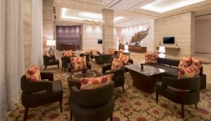 Courtyard lobby-reception