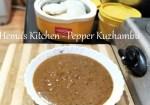 Milagu / Pepper Kuzhambu