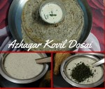 Azhagar Kovil Adai  or Black Gram Dosai