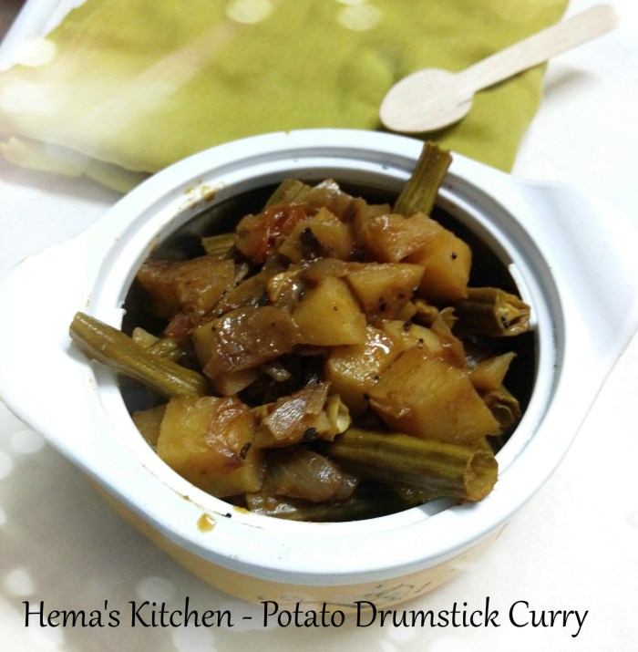 Potato Drumstick Curry1