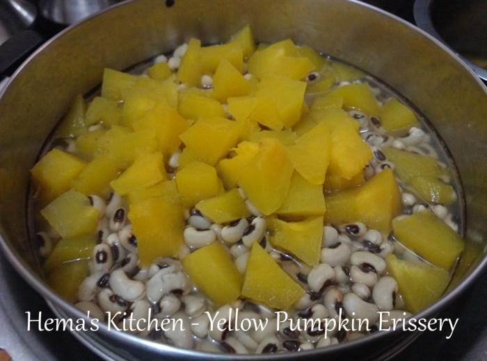 Yellow pumpkin erissery