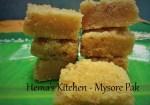 Traditional Mysore Pak