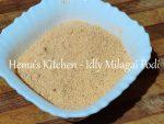 Idly Milagai Podi / Chilli Powder For Idlies