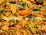 Bhindi Do Pyaza / Ladies Finger Curry Using Double Onions